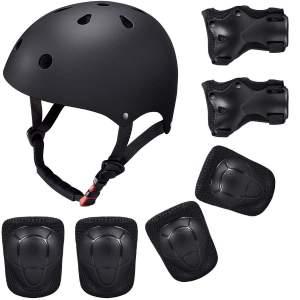 set casco e gomitiere hoverboard