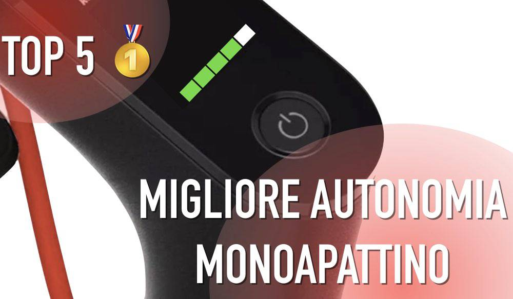 autonomia monopattino elettrico