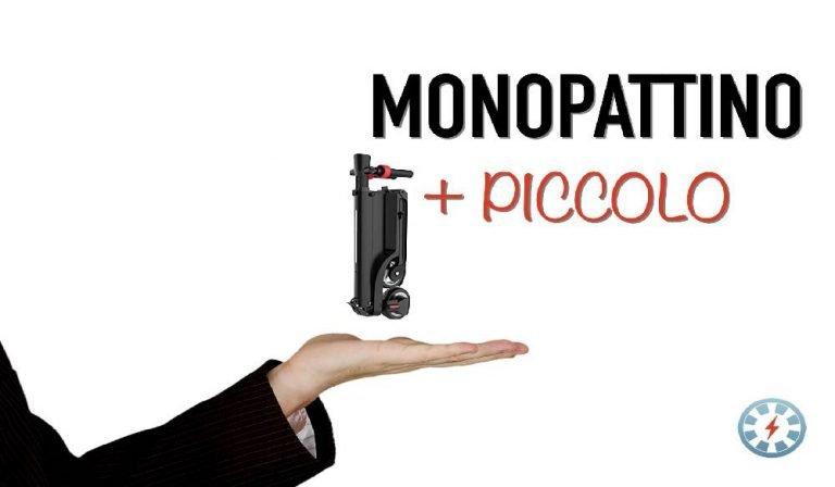 monopattino elettrico più piccolo al mondo