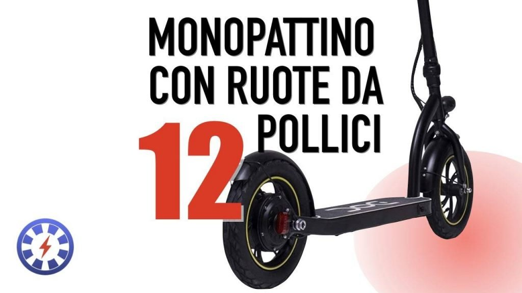 Monopattino elettrico ruote 12 pollici nilox doc twelve