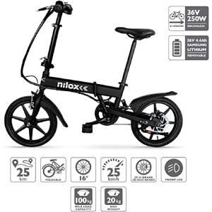 Nilox Doc X2 Plus Ebike bicicletta elettrica a pedalata assistita